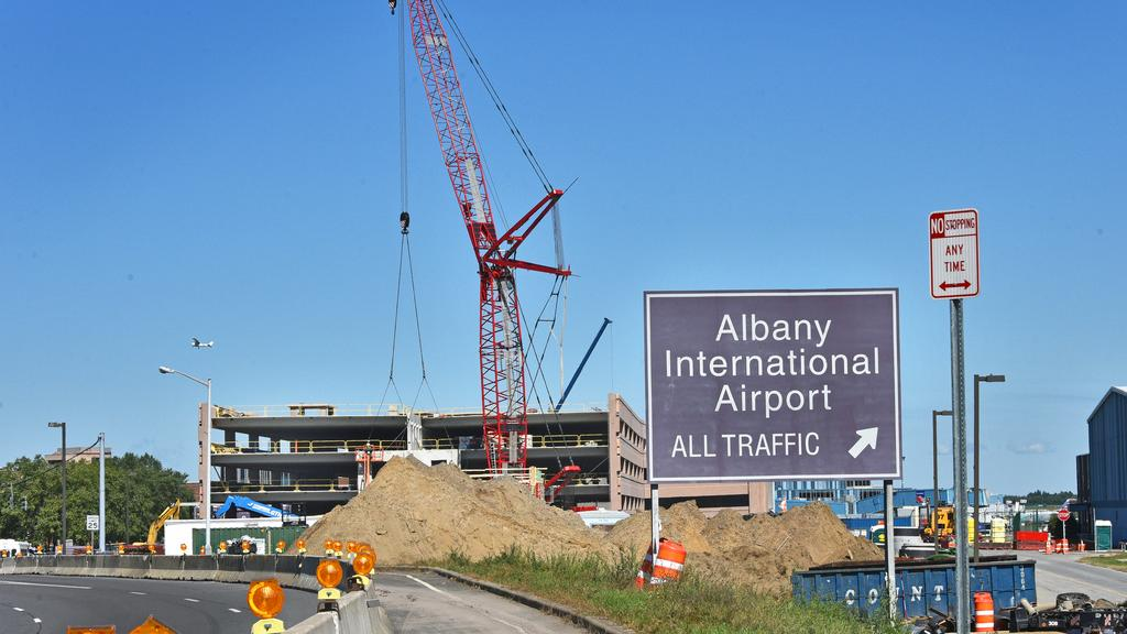 PHOTOS: Construction continues on $92 million of airport investments