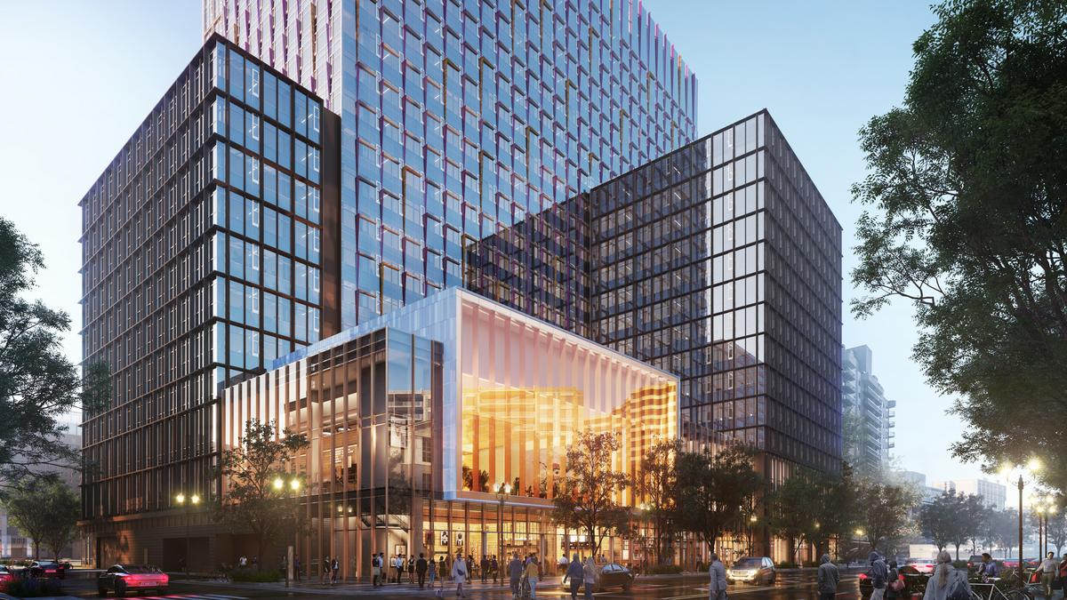 Amazon employees will pay to park at HQ2. Plus, colorful new Met Park renderings.