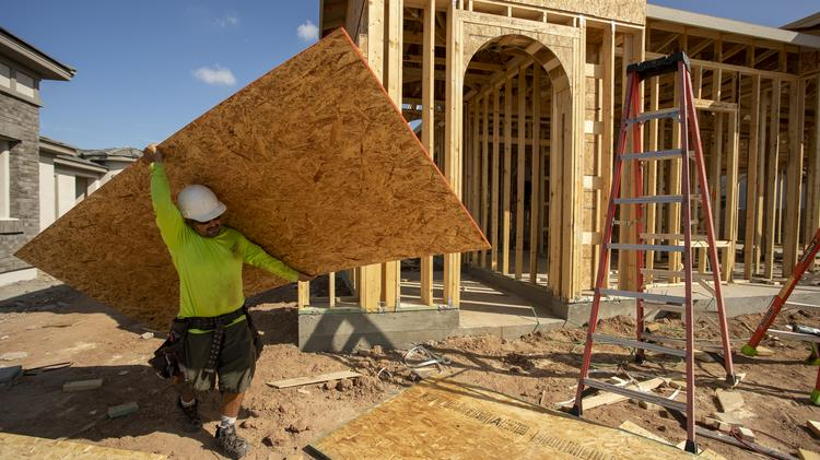 Homebuilders are busier than ever, even during the coronavirus pandemic scare.