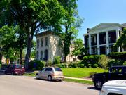 The neighborhood is being recognized for its 19th century architecture, collaborative efforts by residents and local planners, and scenic river and city views.