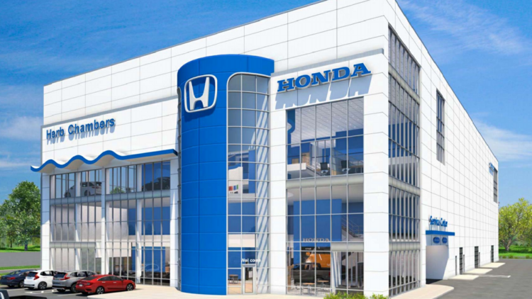 Honda Of Boston >> Herb Chambers Pitches First Class Honda Dealership In