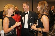 Left to Right - Julia Poston, Todd and Lea Immell, all of Ernst and Young.