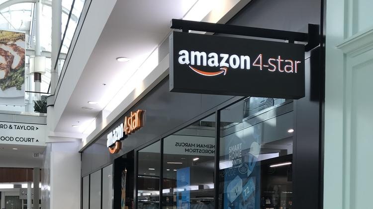Amazon Opens Its First 4 Star Store In Massachusetts Boston Business Journal
