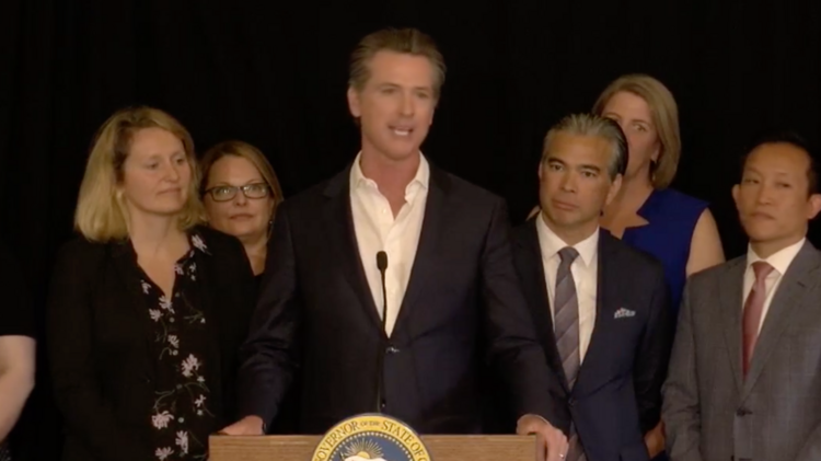 California Gov. Gavin Newsom's recent state budget allocates $600 million in federal funding for Project Roomkey, a program for counties to purchase local properties that would be used for permanent supportive housing for homeless residents.