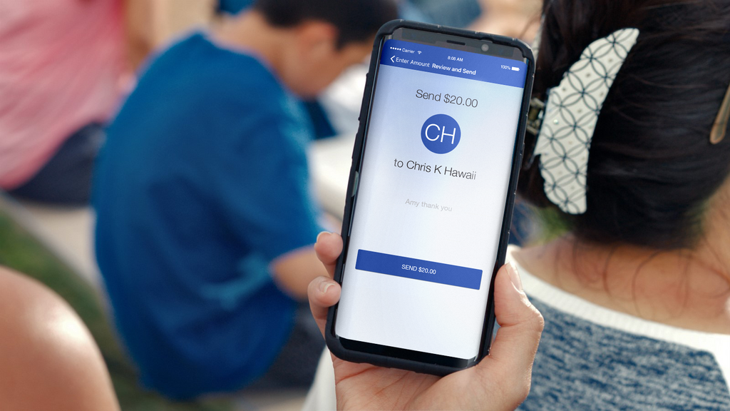 Bank of Hawaii offers Zelle app for personal transactions