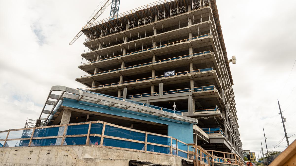 Construction Tour Of Eakin Partners Peabody Plaza Office Building