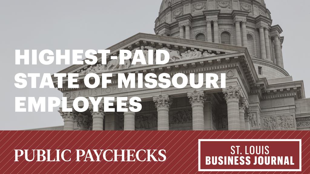 Public paychecks 2019: Highest-paid state of Missouri employees