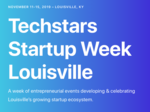 LEAP, area partners launch first Techstars Startup Week — here's what we know