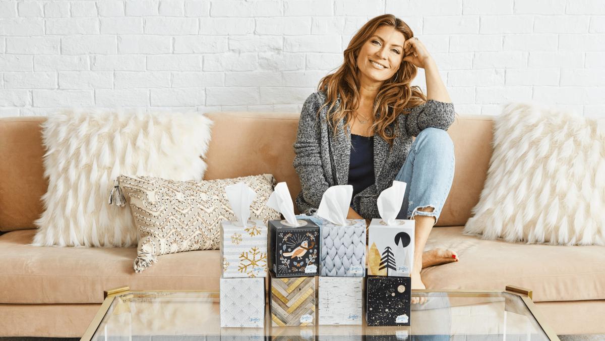 Genevieve Gorder Turns Her Design Talent To Tissues Bizwomen