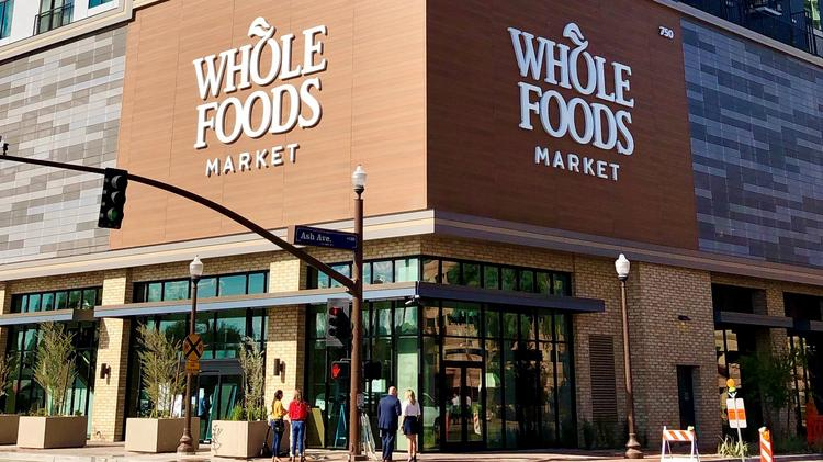 The exterior of the new Whole Foods in Tempe at 750 S. Ash Avenue.