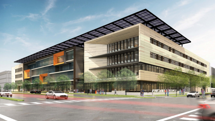 Austin Energy's new headquarters will be about 10 minutes northeast of downtown.