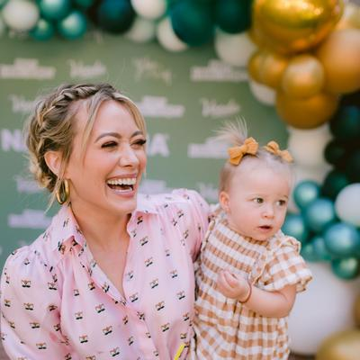 Hilary Duff launches diaper, feminine care lines with Naturalena Brands - Bizwomen