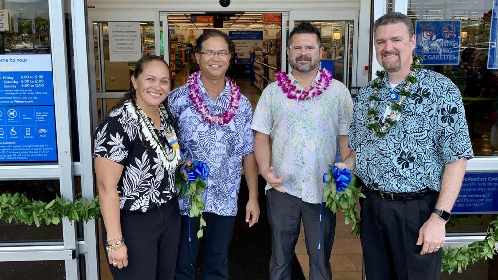 Lihue Walmart celebrates grand reopening following renovations