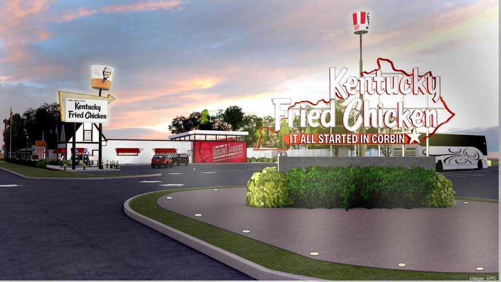KFC to renovate, expand the historic birthplace of its original recipe (PHOTOS)