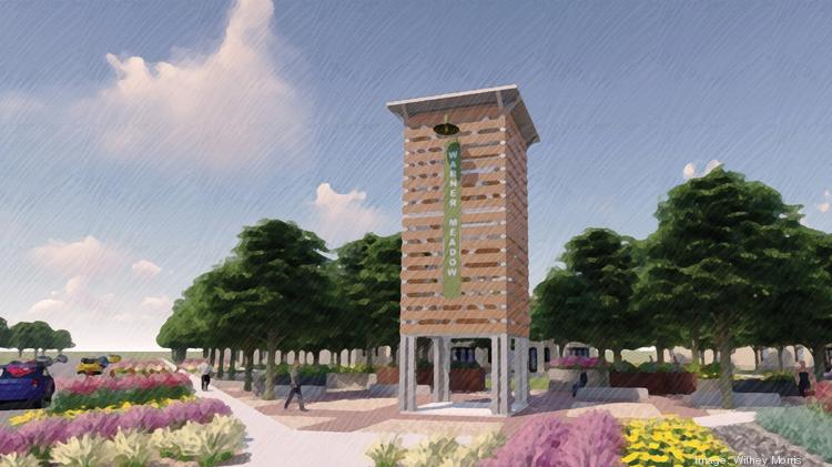 A rendering of Warner Meadow, a community being planned at Warner and Recker roads in Gilbert.
