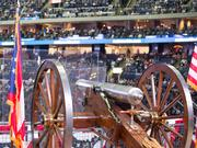 The Blue Jackets' cannon will be featured in EA Sports' NHL 16.