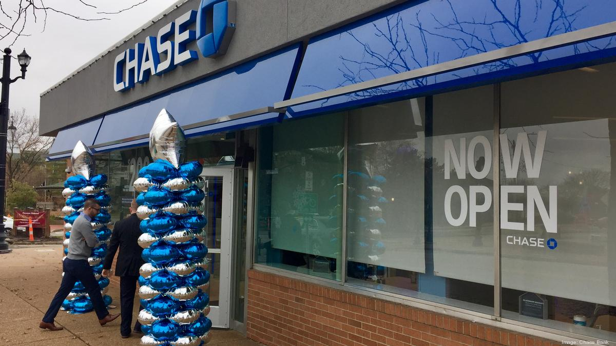 Goede Chase Bank plans to open 25 branches in St. Louis, hire 200 - St UC-25