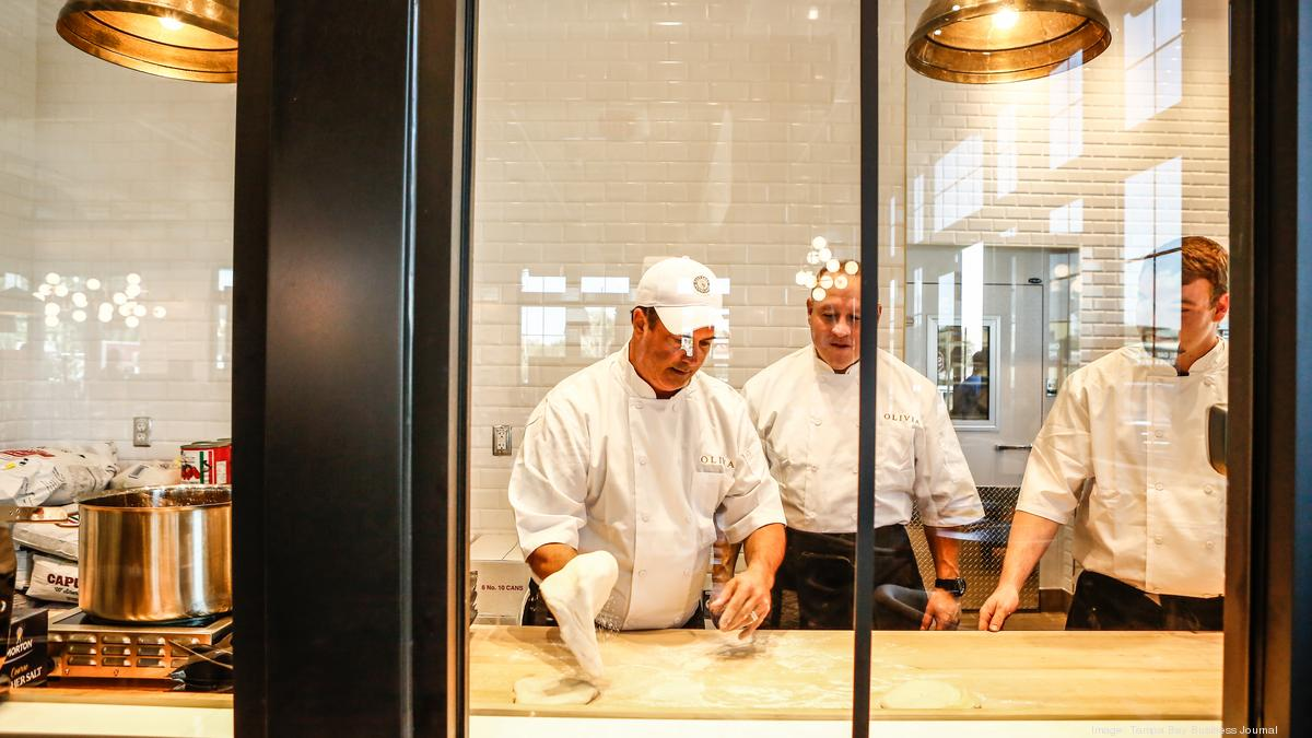 Chris Ponte's Midtown Tampa restaurant is full-speed ahead - Tampa Bay Business Journal