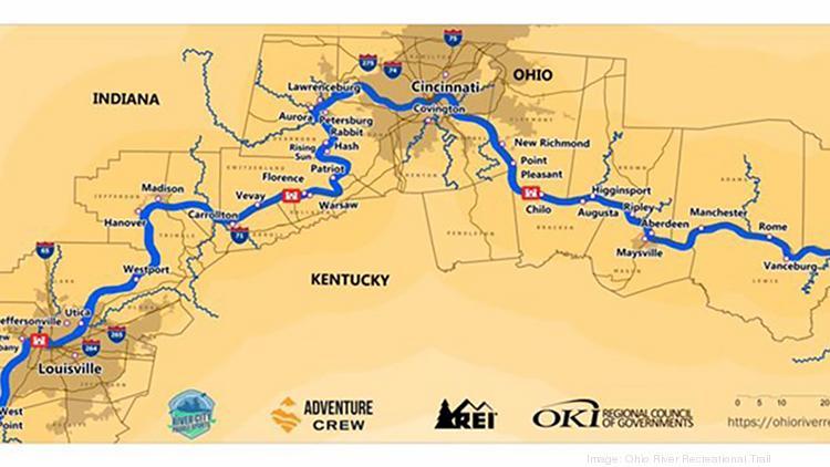 Ohio River Trail gains federal assist - Cincinnati Business ...