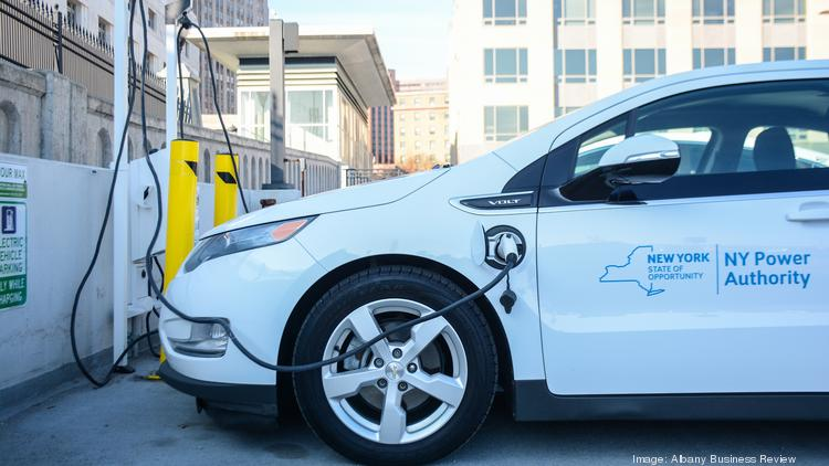 Albany installs EV chargers at Riverfront, Green-Hudson and