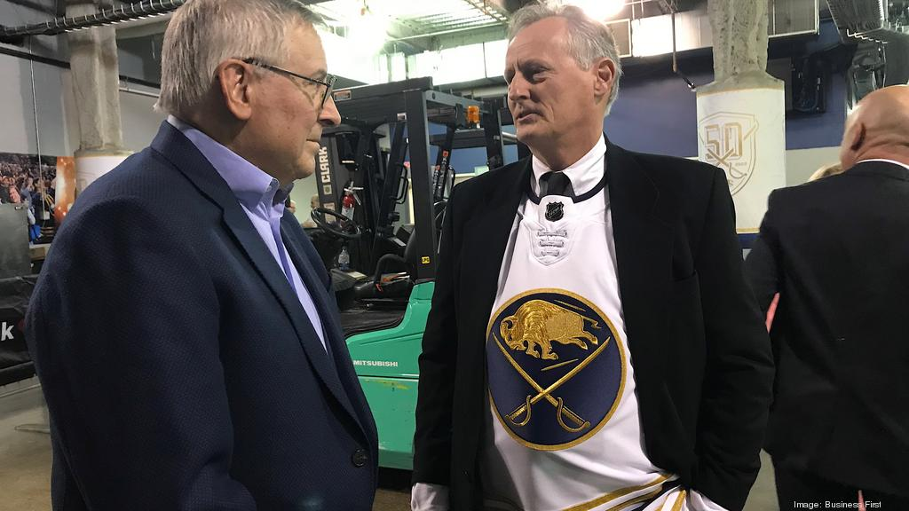Present greets past as Sabres host founding owners