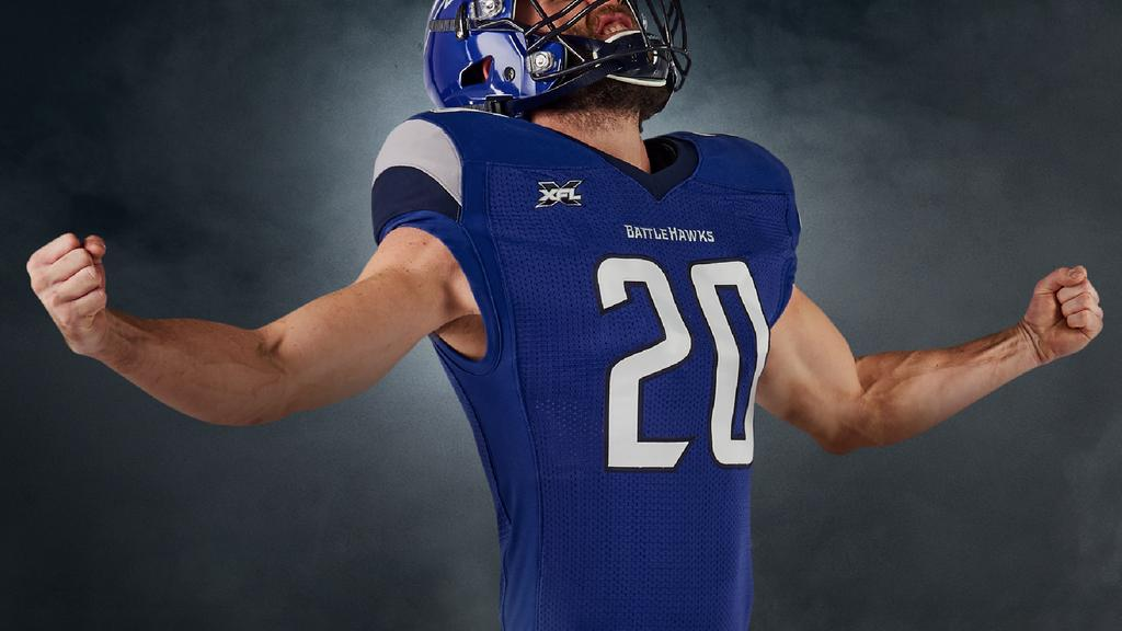 St. Louis BattleHawks unveil team uniforms (Photos)