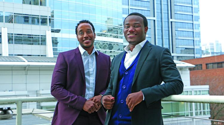 Yoseph Ukbazghi (Left) and Wilson Kubwayo co-founded the networking group Simple X.