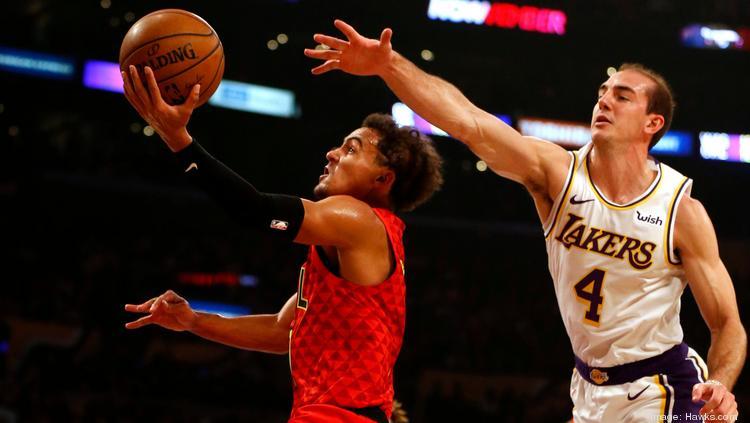 Lakers Vs Hawks Most Expensive Ticket Of Hawks Season So