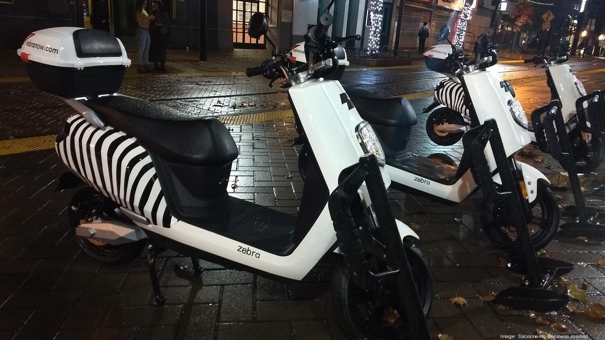 Zebra Inc Moped Rental Comes To Sacramento Sacramento