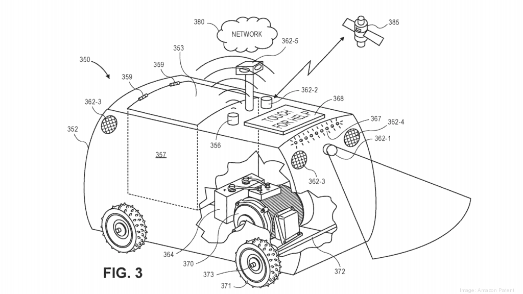 The most interesting Amazon patents of 2019: From drones that follow you home to virtual reality noses