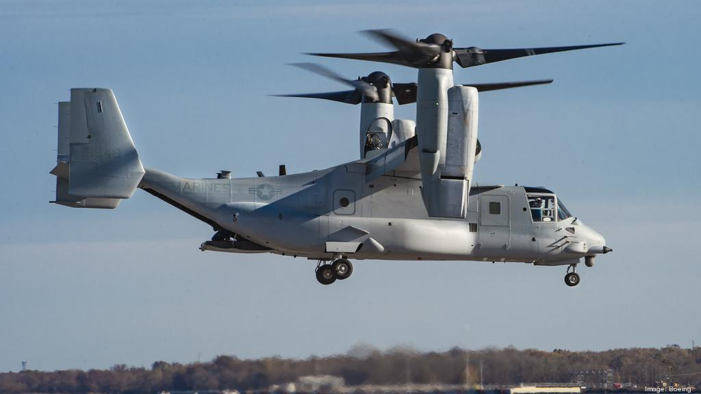 Bell Boeing delivers first modified V-22 variant to Marines