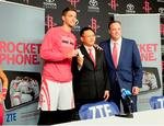 Rockets partner with China-based smartphone company