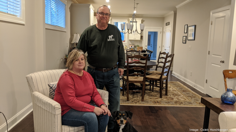 Jack and Martha Nales moved to Wendell Falls in 2017, after a visit to the community saw them bump up their moving plans by a year.