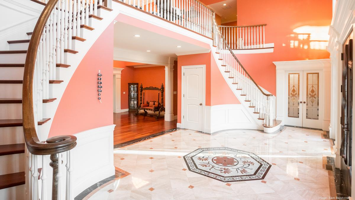 This 5 5m Andover Estate Has Indoor Pool And Basketball Court Boston Business Journal