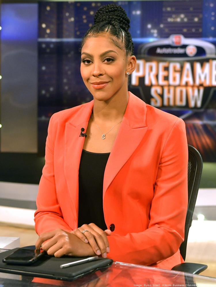 WNBA star Candace Parker is a studio analyst at Turner Sports.