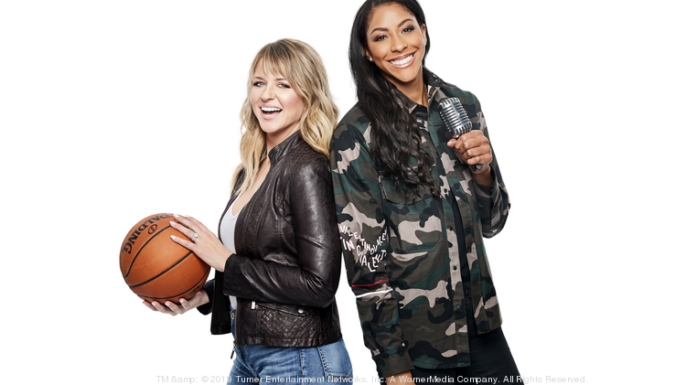 Turner's Kristen Ledlow and Candace Parker host a weekly podcast together.