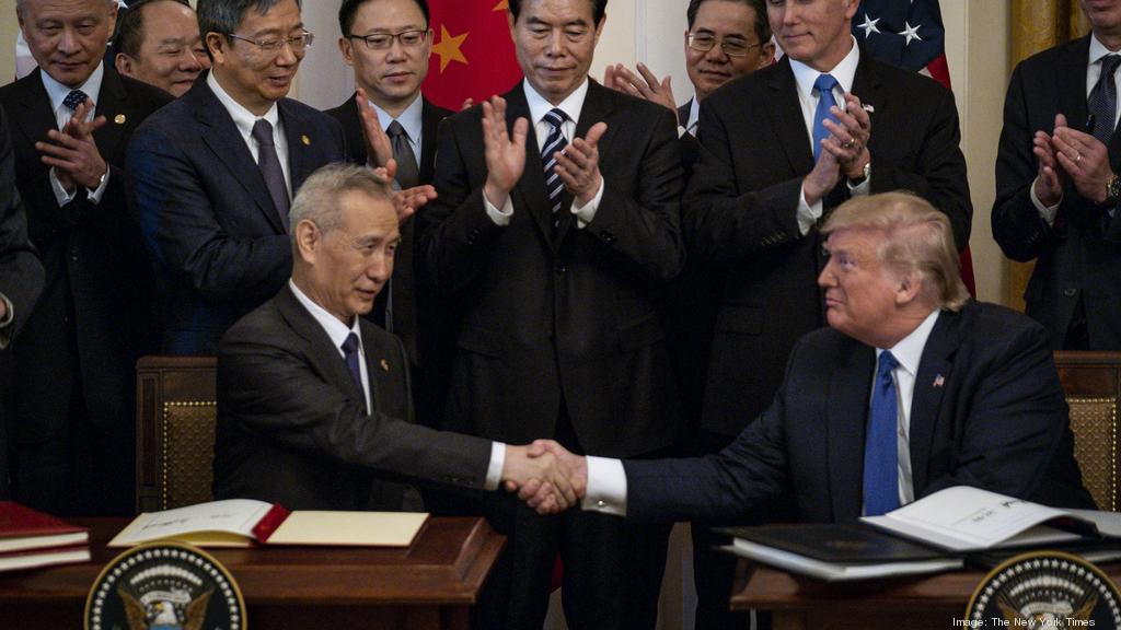 President Trump touts trade deals on latest Austin visit
