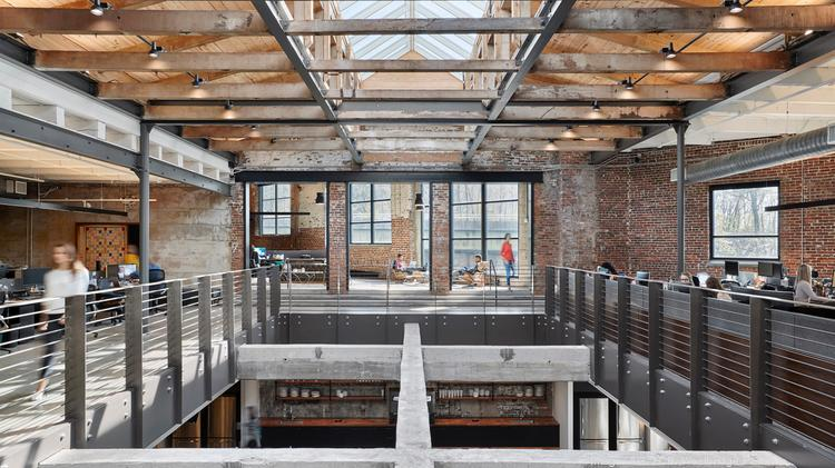 Stockyards Atlanta is a former meatpacking plant that was turned into a home for corporate offices, a popular Italian restaurant and duckpin bowling. It just sold for almost $70 million.