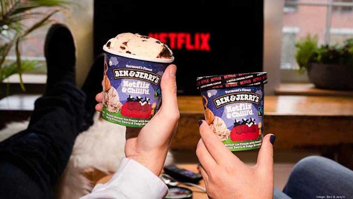 Ben & Jerry's wants you to Netflix and Chill'd - Bizwomen