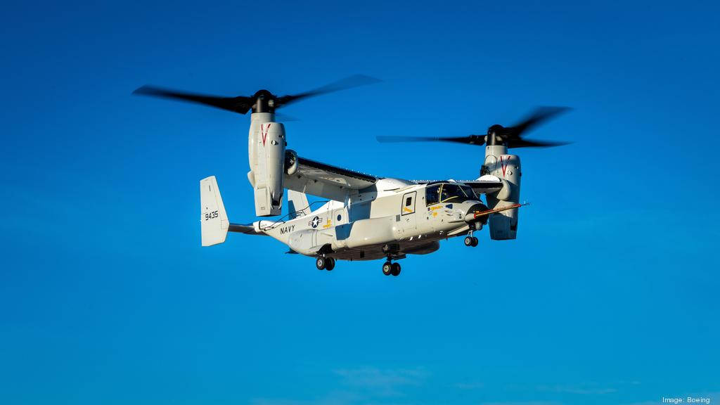 New V-22 variant made by Bell Boeing achieves first flight