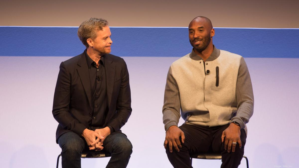 impermeable Papá garaje  Nike's Mark Parker on Kobe Bryant - Portland Business Journal