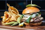 The Rustic will feature The Rustic burger, made from locally sourced items.