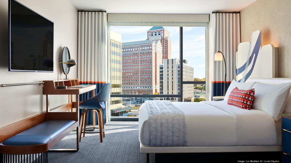 Le Meridien Hotel in Clayton to reopen Oct. 1 after year-long, $20M upgrade - St. Louis Business Journal