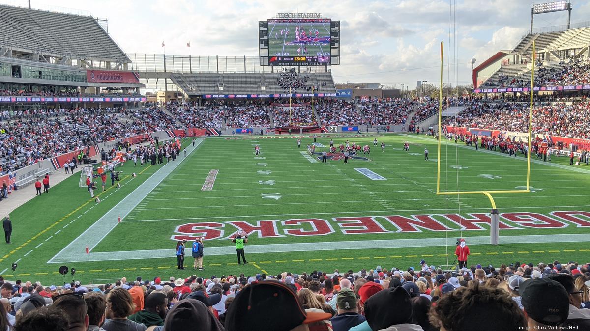 Houston Roughnecks Hold First Xfl Game At Tdecu Stadium Houston Business Journal