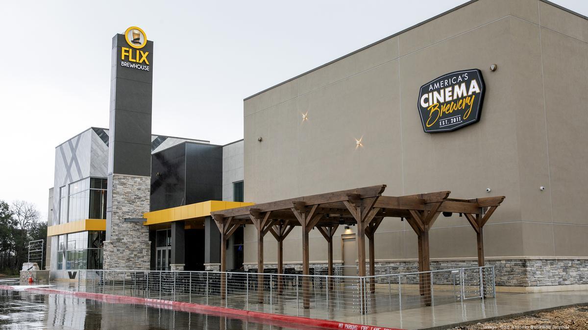 Flix Movie Theater >> Flix Brewhouse opens first San Antonio cinema - San ...