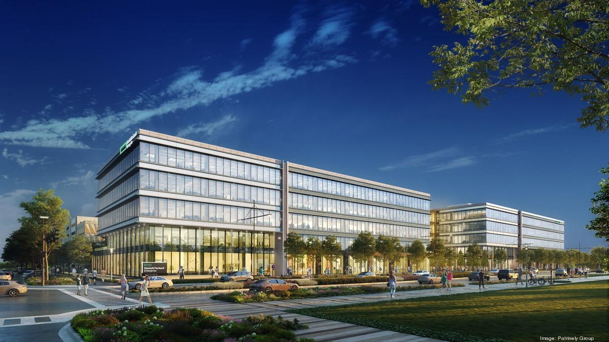 Hewlett Packard Enterprise's Houston-area campus tops out - Houston Business Journal