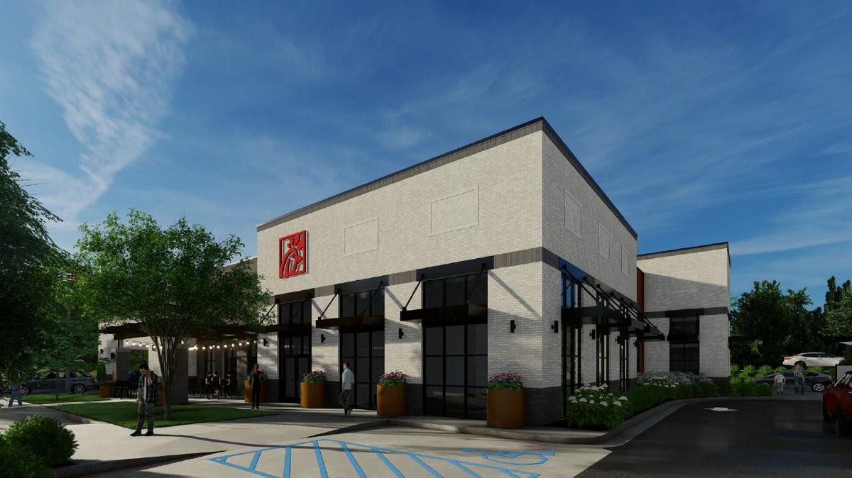 First Look: This is the modernized Chick-fil-A being rebuilt near North Point Mall - Atlanta Business Chronicle