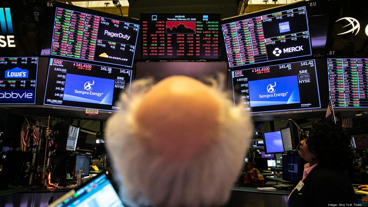 Stocks take dive not seen since 2011 over virus crisis - New York Business Journal