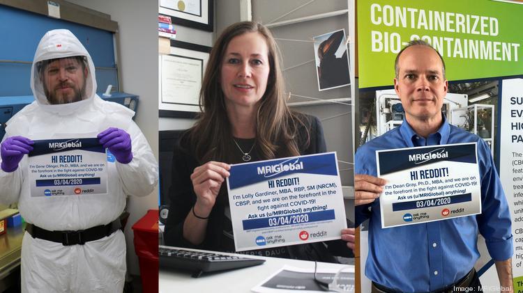 Mriglobal Experts Tackle Coronavirus In Reddit Ama Kansas City