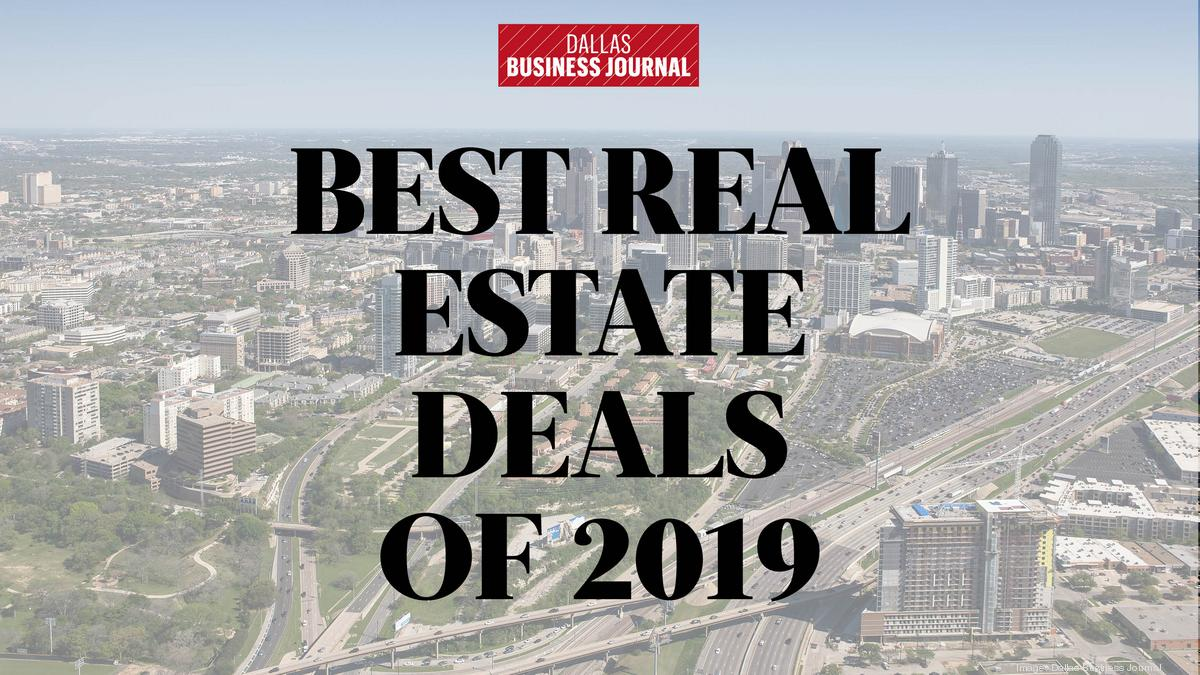 Best Real Estate Deals of 2019 event is rescheduled for Aug. 5; Jerry Merriman to receive Lifetime Achievement Award - Dallas Business Journal